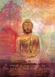 GC 1079 MP Golden Lotus BuddhaCollage