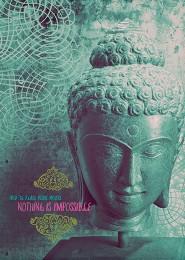 GC 1118A P Peaceful Buddha BustGreen