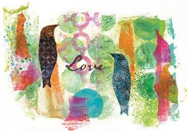 GC 1137 G Rainbow Birds 1
