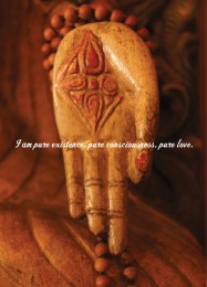 CB 1026 P Chopra Buddha Hand Extending Love