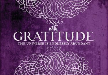 CB 1133B Scrolled Gratitude