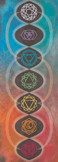 Ready-to-Hang Chakra Ladder