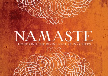 GC 1133E Scrolled Namaste Orange